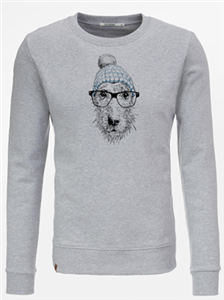 Sweat Chien à lunette - Greenbomb
