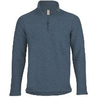 Pull homme en maille polaire 100% laine - Engel