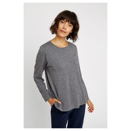 Top AMARA Gris Tencel et Laine - People Tree
