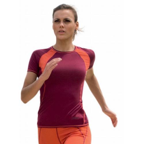 T-shirt femme sport en laine merinos et soie 150g m² - Engel Sports 214664d4c13