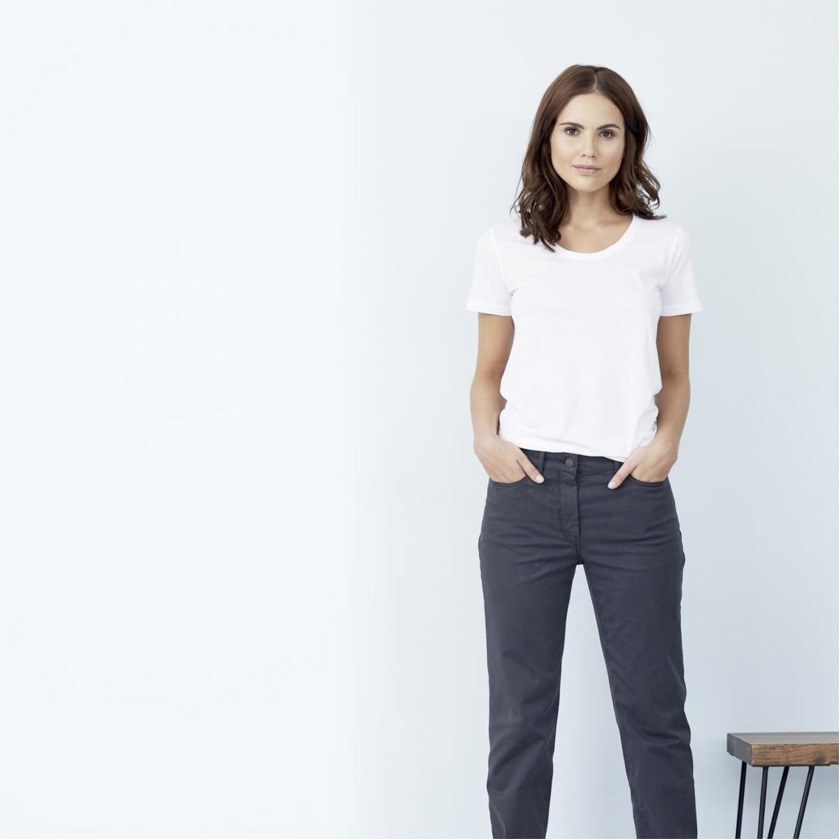 c71c29bf0353c T-shirt basiques femme en coton bio - Living Crafts