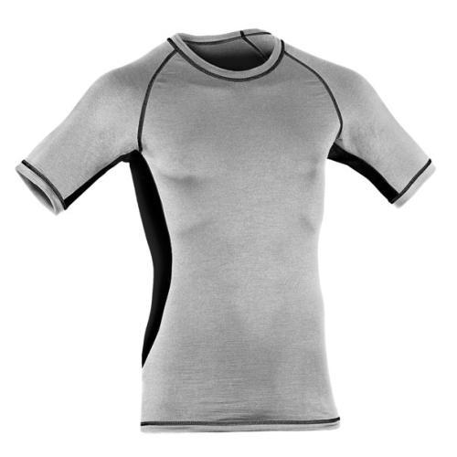 t shirt sport slim fit homme en laine merinos et soie 150g. Black Bedroom Furniture Sets. Home Design Ideas